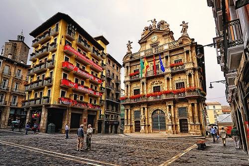 Plaza Ayuntamiento Pamplona