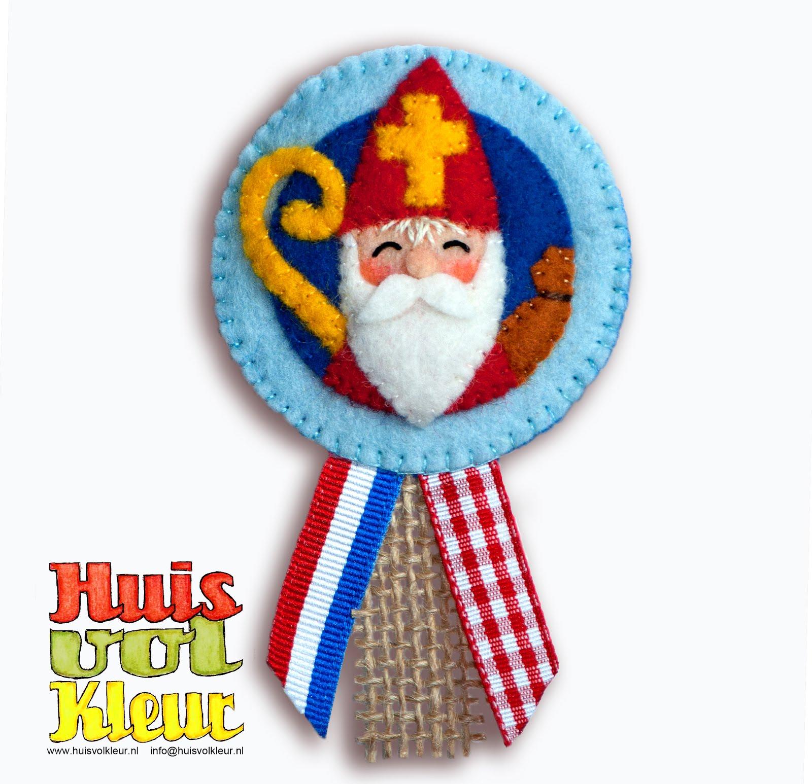 Gratis patroon Sinterklaas