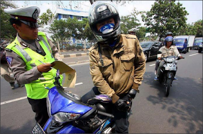 Ini Dia Biaya Tilang Terbaru di Indonesia