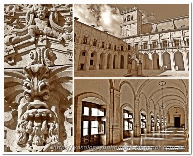 Mosaico de fotos del Monasterio