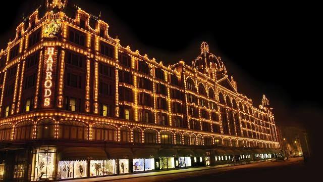 Loja de departamentos Harrod's em Londres