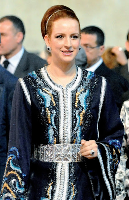 caftan maroc , Fashion Celebrities , caftan el amira lala salma