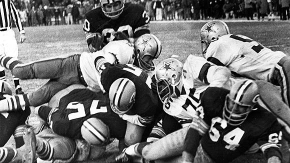 Ice Bowl Cowboys Packers 1967