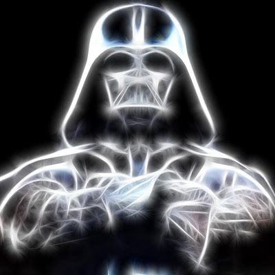 darth vader illustration ipad