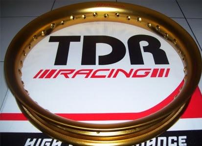 Rincian Harga Velg Motor TDR Racing Terbaru 2015