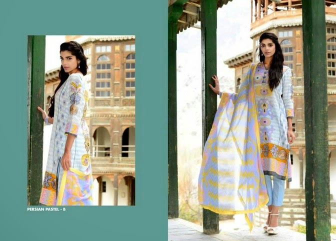 WardaSaleemLawn2014ByShariqTextile wwwfashionhuntworldblogspot 13  - Warda Saleem Lawn Collection 2014 By Shariq Textile
