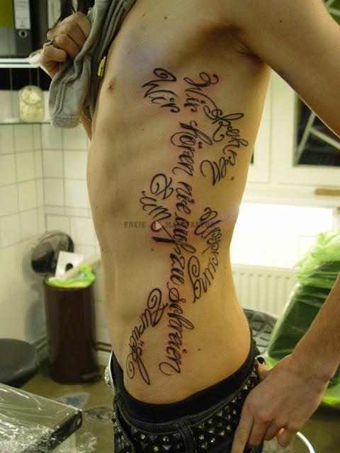 Tattoos Designs For Men On Ribs | New Tattoos