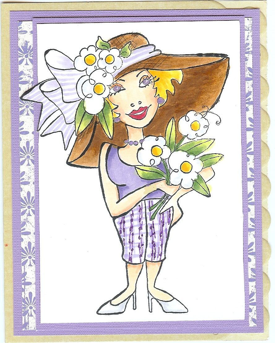 To Cut or Color: New Loralie Designs cards
