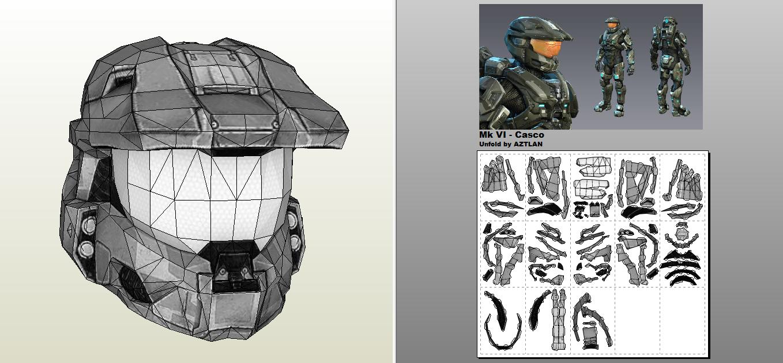 AZTLAN: Armadura Mark VI - Halo 4