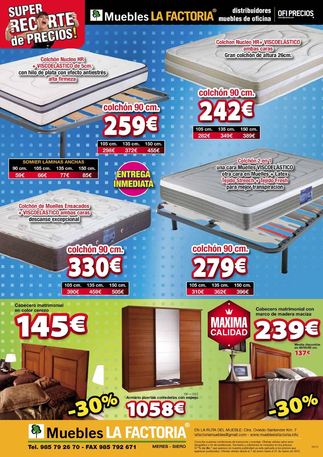 Muebles La Factoria Catalogo Affordable Folleto De Muebles Sarria  # Muebles La Factoria