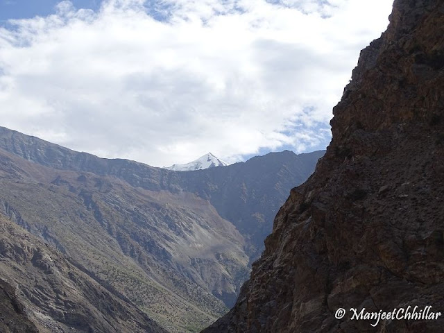 View of Spiti from Sutlej