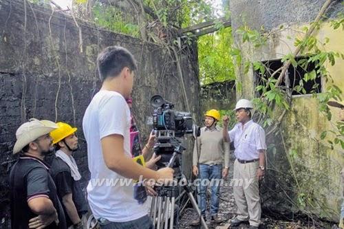 Sinopsis filem seram Villa Nabila adaptasi kisah benar, kisah misteri banglo lama Villa Nabila, cerita hantu Villa Nabila, gambar filem Villa Nabila