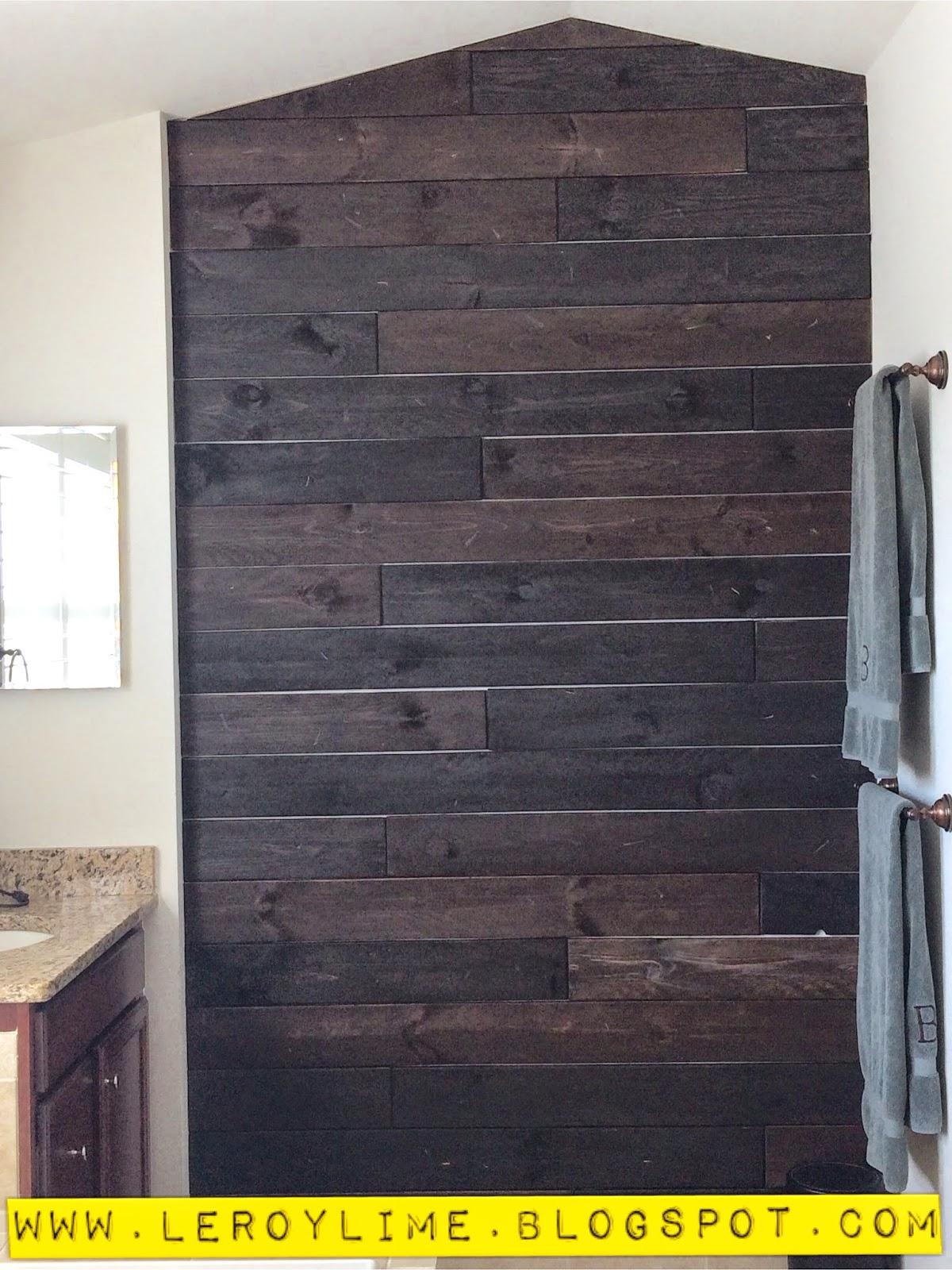 leroylime diy wood wall. Black Bedroom Furniture Sets. Home Design Ideas