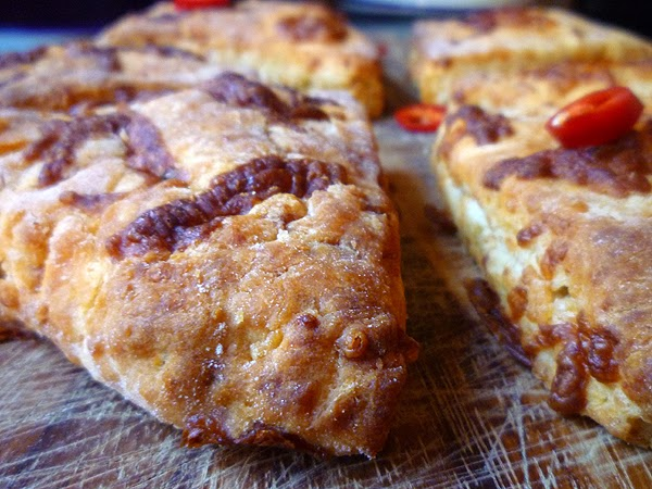 Spicy Mexican Cheddar Scones Recipe