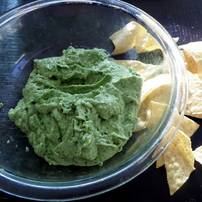 Great Guacamole:  A creamy dip of pureed avocados and spices.