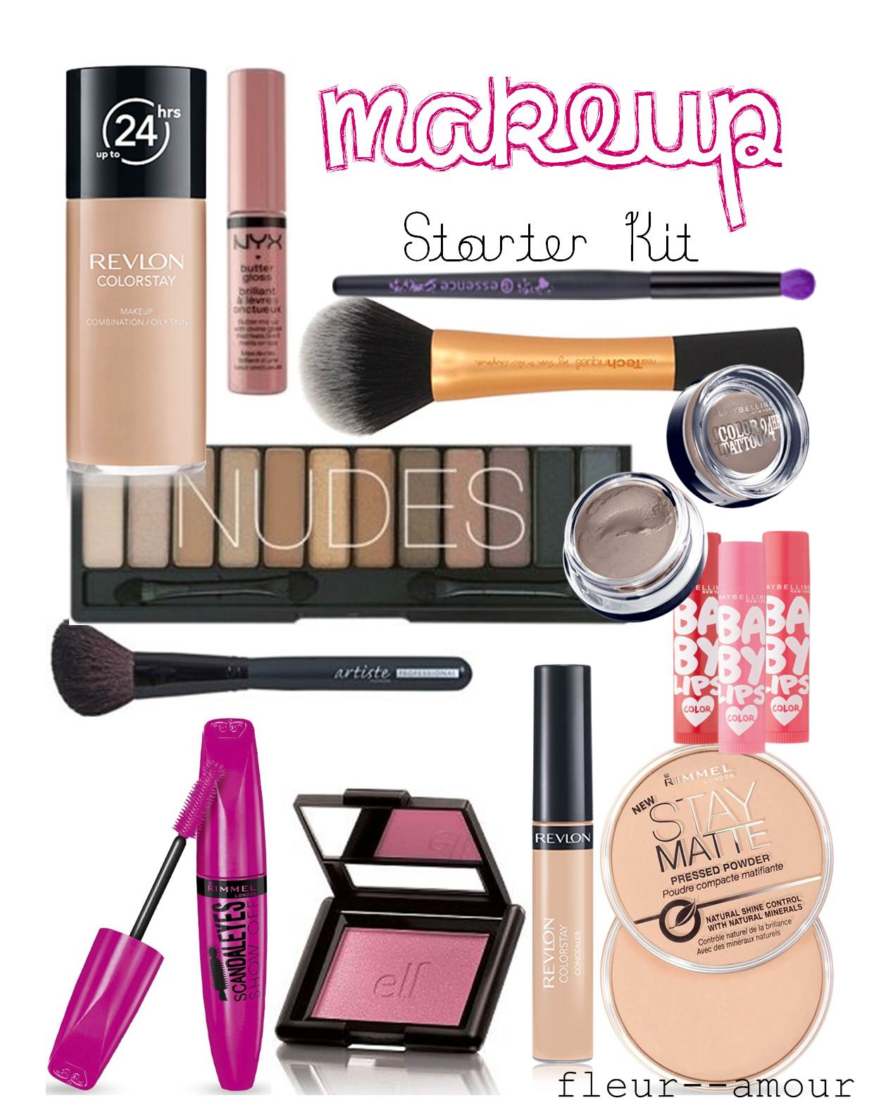 Good Makeup Starter Kit Mugeek Vidalondon