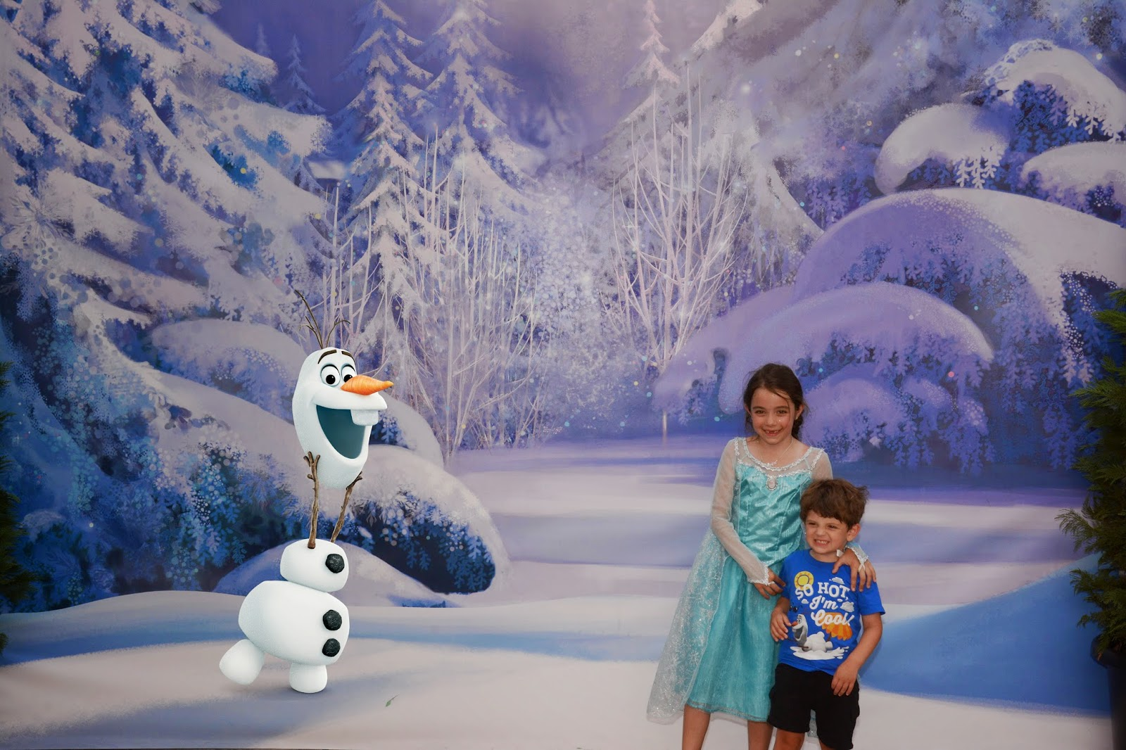 Frozen Summer Fun Live! PhotoPass Magic Shot with Olaf