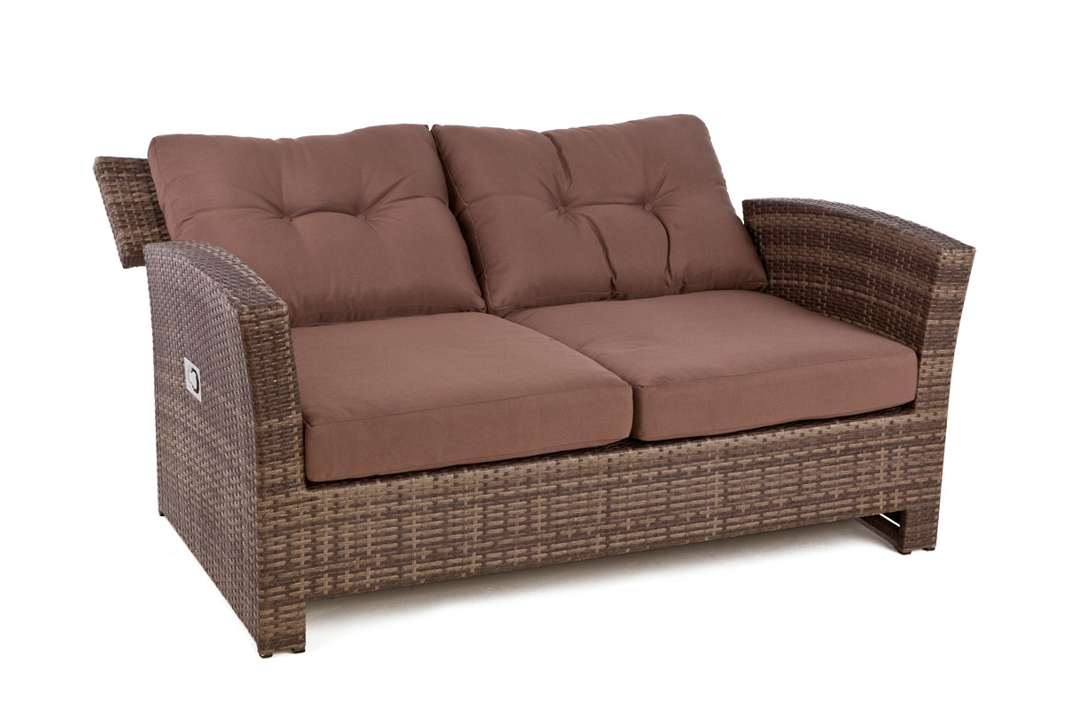 ... sofa set for outdoor with reclining lounge chairs and sofa. Free UK