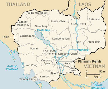 Where Is Cambodia Located On The Map - Where is cambodia
