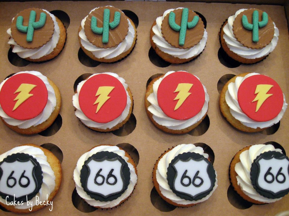 Cakes by Becky Lightning McQueenCars Birthday