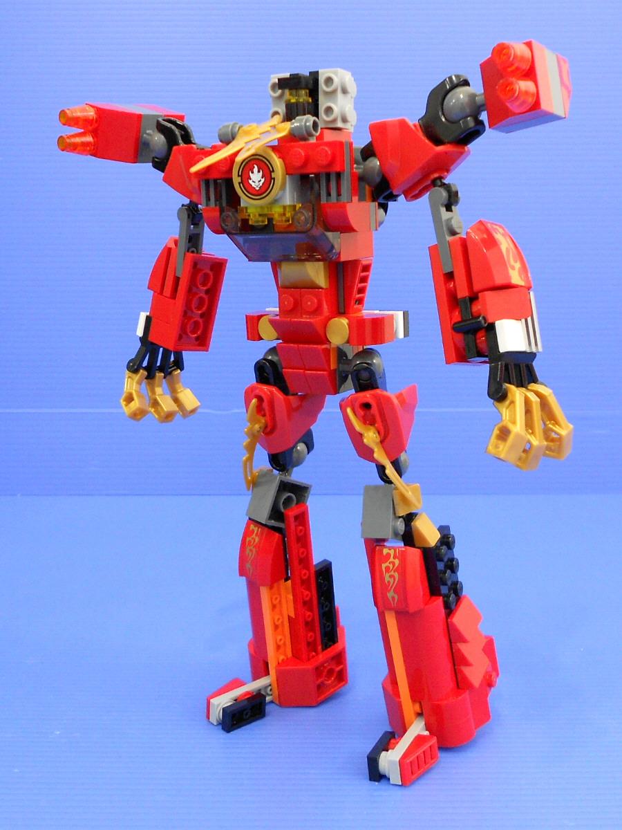 Alanyuppie 39 s lego transformers kai rotormech alternate - Ninjago lego kai ...