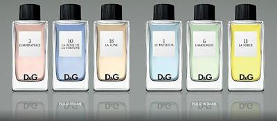 Dolce&Gabbana D&G fragances