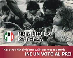 PRImero la pobreza