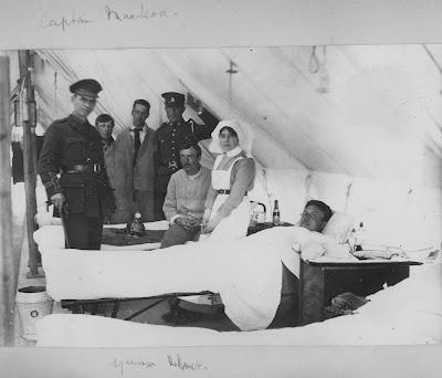 Nursing Sister WW1 Photo Album: 30V Captain MacLeod