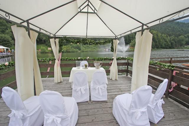 Trauung auf dem Wasser - Riessersee-Floß - Lakeside wedding in Garmisch