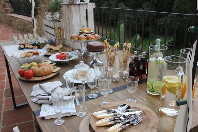 Un brunch con amigos y barbara 39 s catering monicositas blog de moda ni os y lifestyle de for Casa jardin buffet