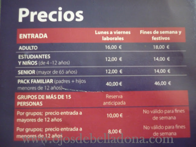 Precios The Human Body Exhibition Marbella