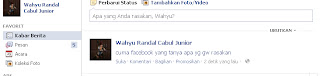 Cara Membuat Tulisan Biru di Facebook (Status)