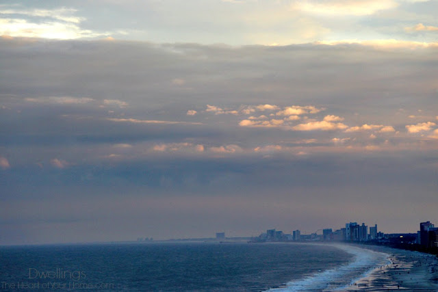 Myrtle Beach, SC after tropical storm Ana.