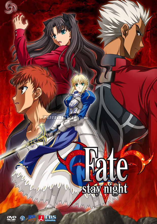 Fate Stay Night 2006 poster
