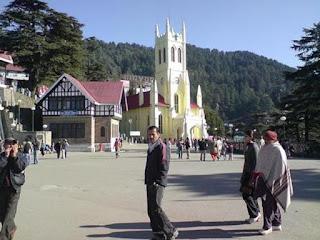 Rigde Shimla