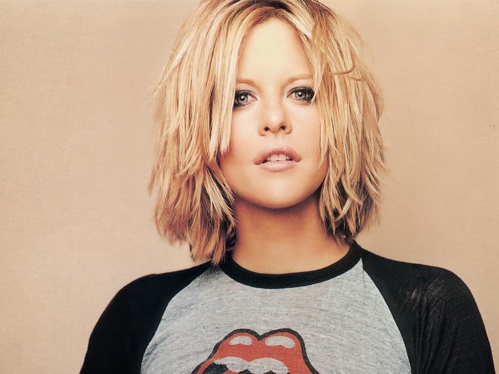 Meg Ryan in Cool HairStyle