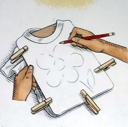 Awsome DIY Crafts for Kids and Adults: T-Shirt Art and ... | 448 x 445 jpeg 101kB