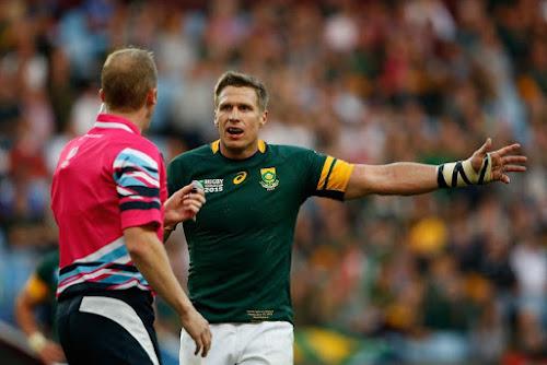 Jean de Villiers le dijo adiós a los Springboks