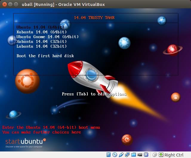 DriveMeca probando Ubuntu AIO DVD