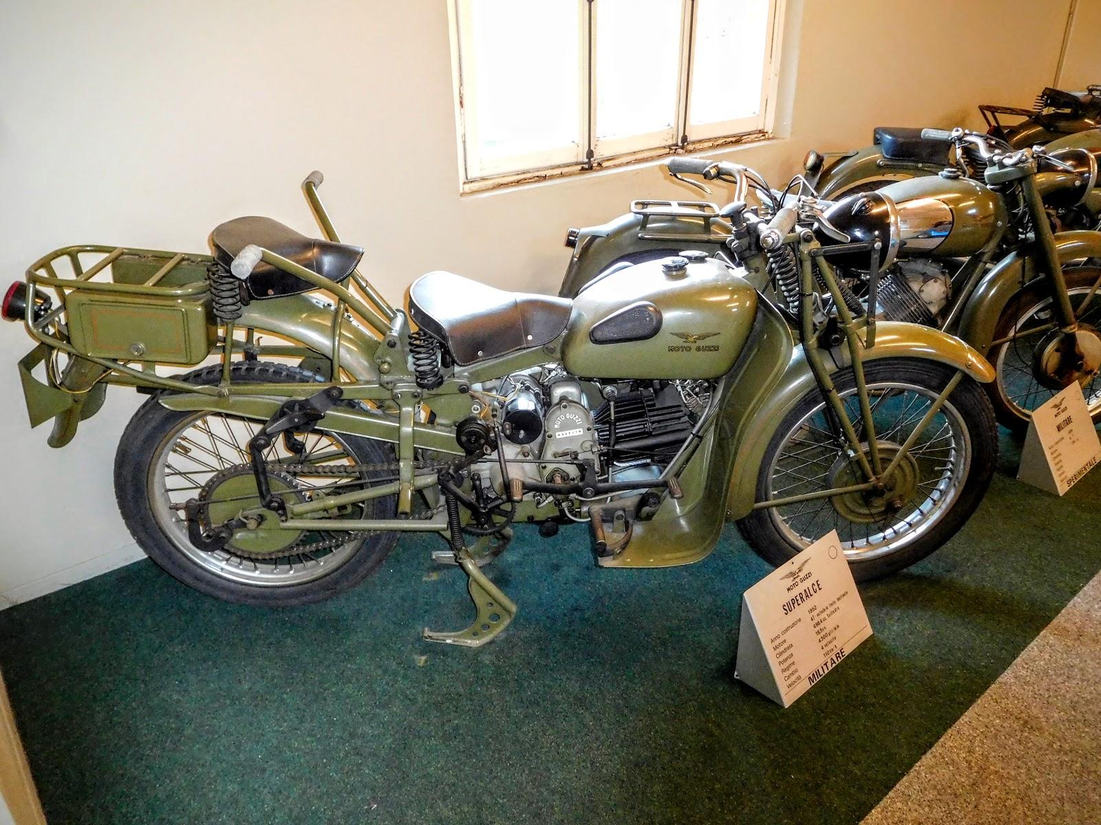 Tigho NYDucati: 1962 Moto Guzzi Superalce Militare