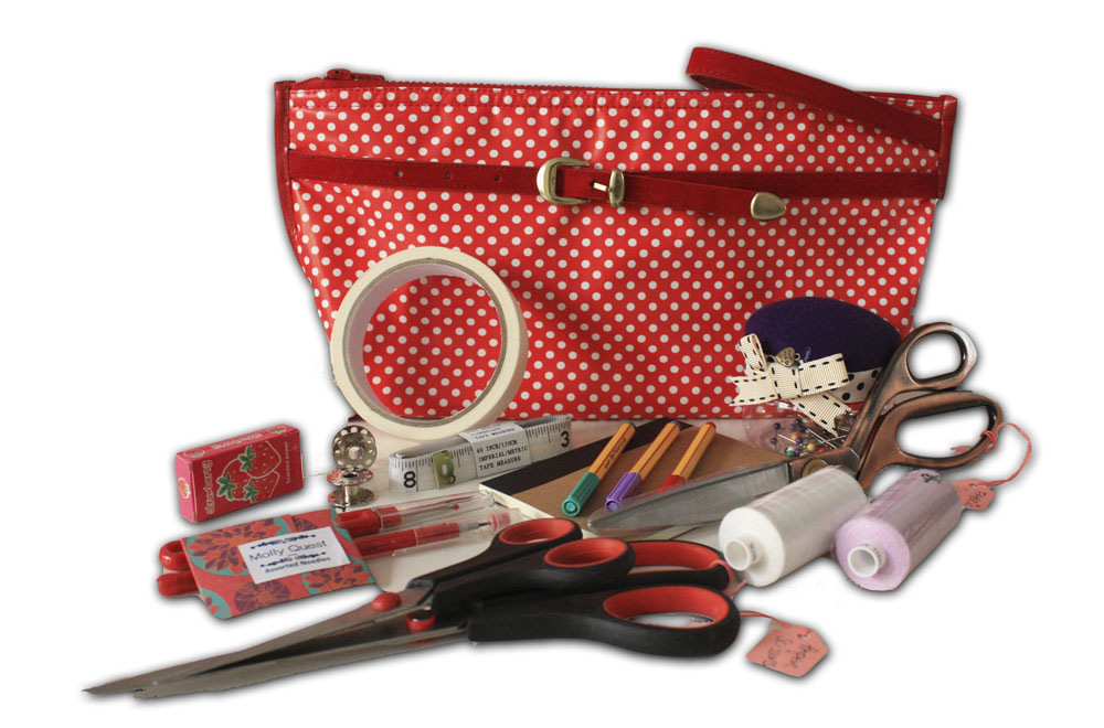 Book Cover Sewing Kit : Molly quest deluxe sewing kits