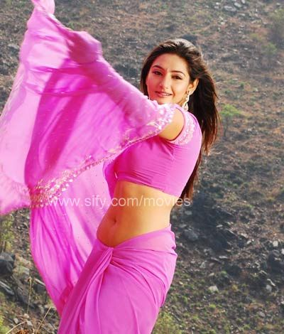 Ragini in Pink Saree - Ragini Hot Pink Saree Stills - Unseen