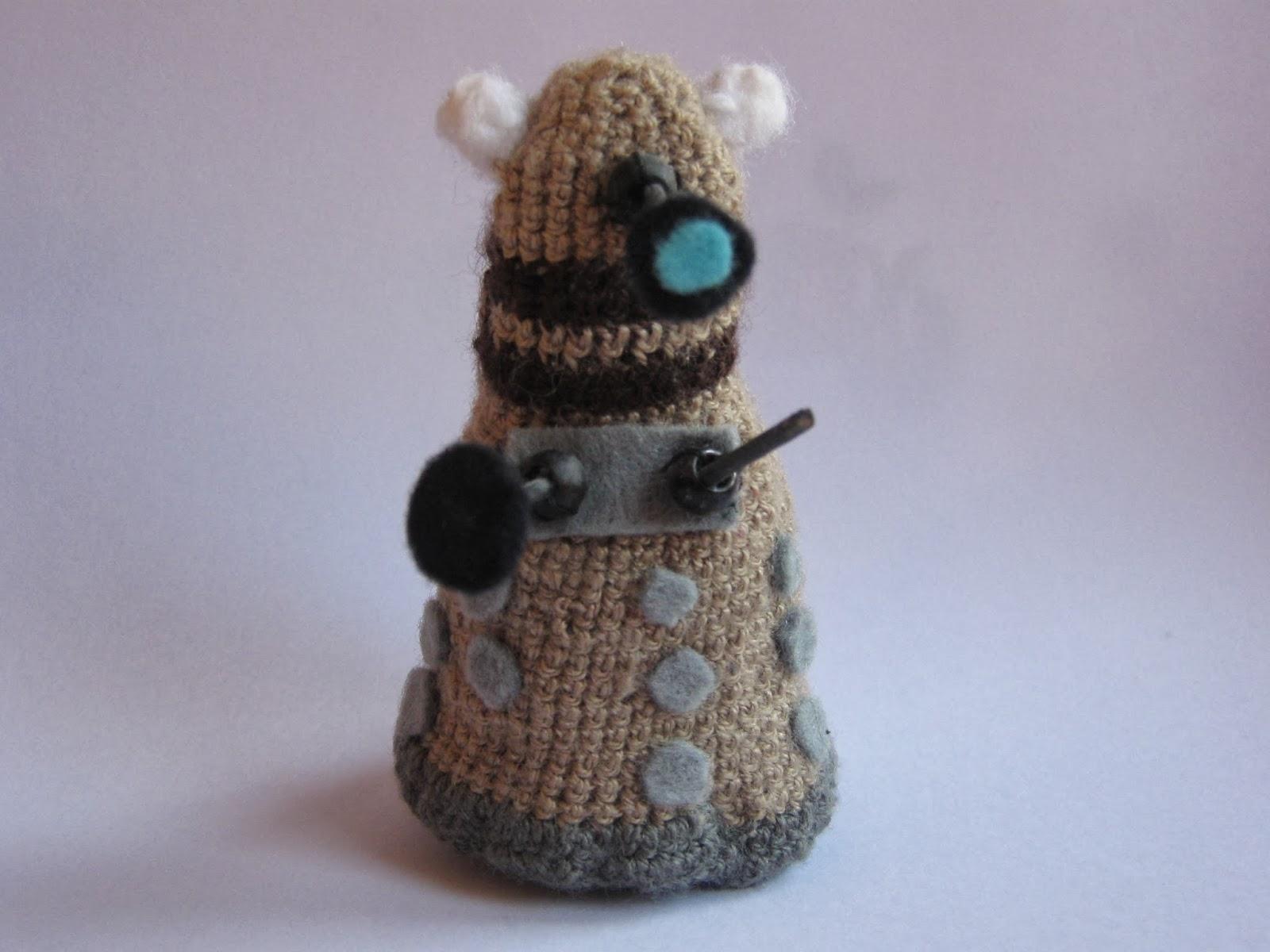 Crochet Dalek