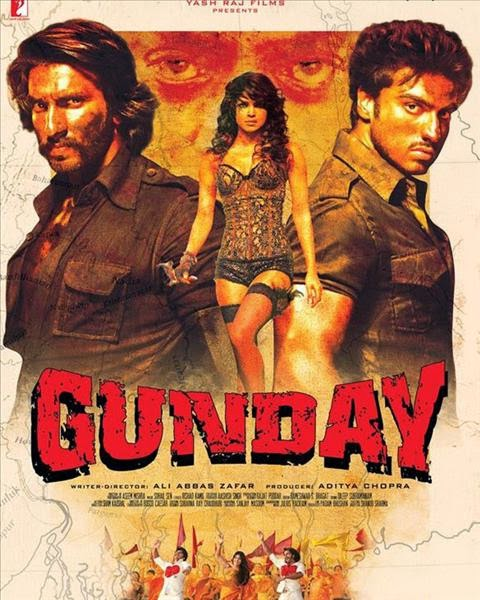 Gunday 2014 Hindi (Music Videos) HDRip x264 AAC...Hon3y