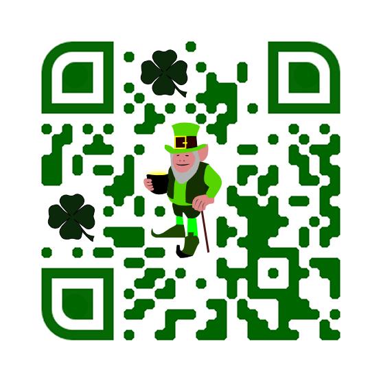 Saint Patrick's day QR Code