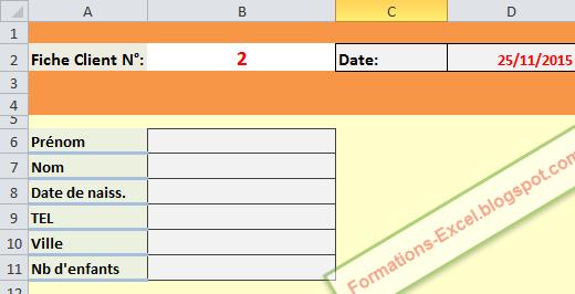 exemple validation des données