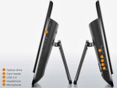 моноблок Lenovo IdeaCentre B520 со всех сторон