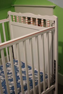 DIY Painted Crib