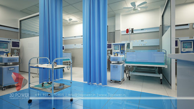 contemporary hospital interior design