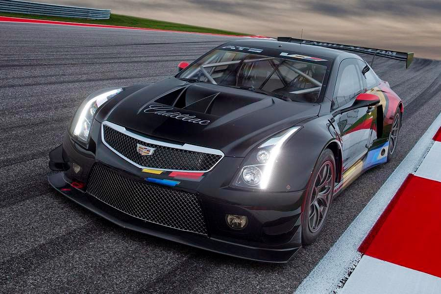 Cadillac ATS-V.R Coupe 2015 Front Side 1